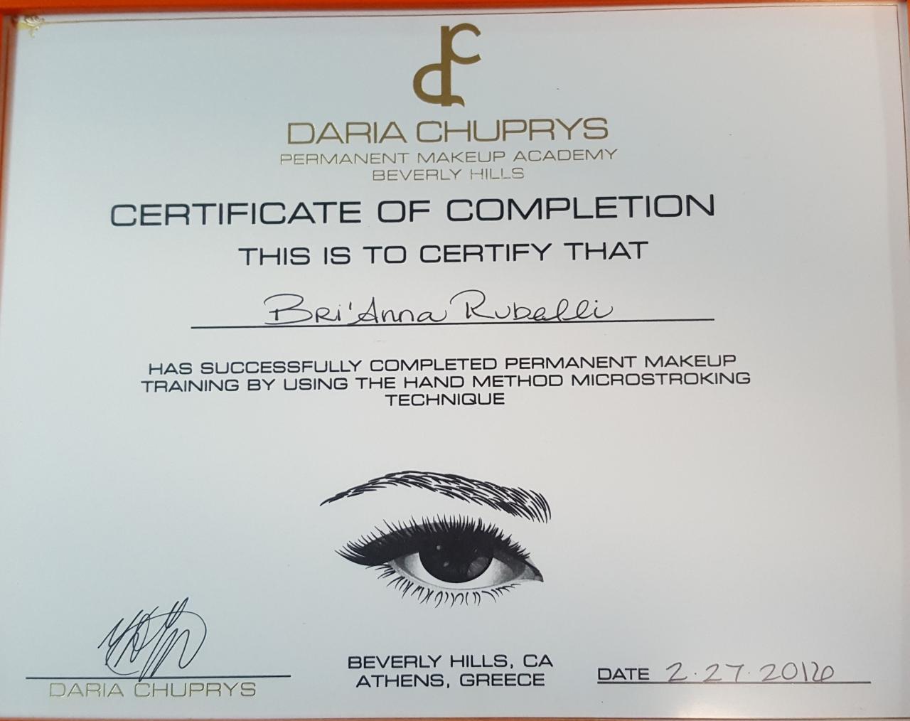 Permanent Makeup Course Saubhaya